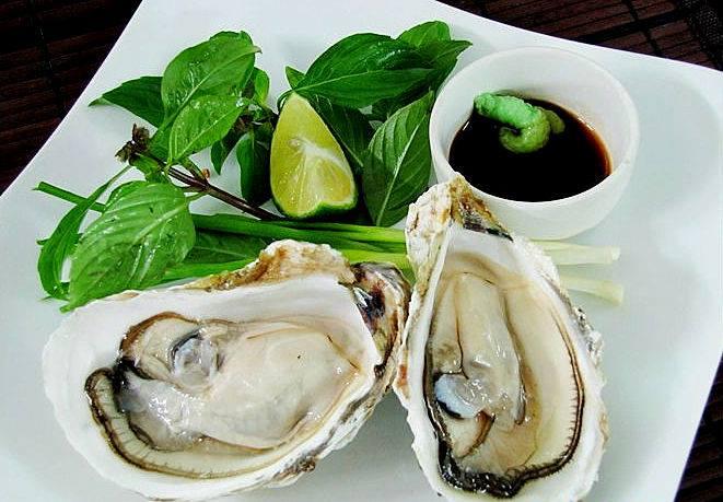 hàu tái chanh   Blog Review và Kinh Nghiệm Ăn Uống
