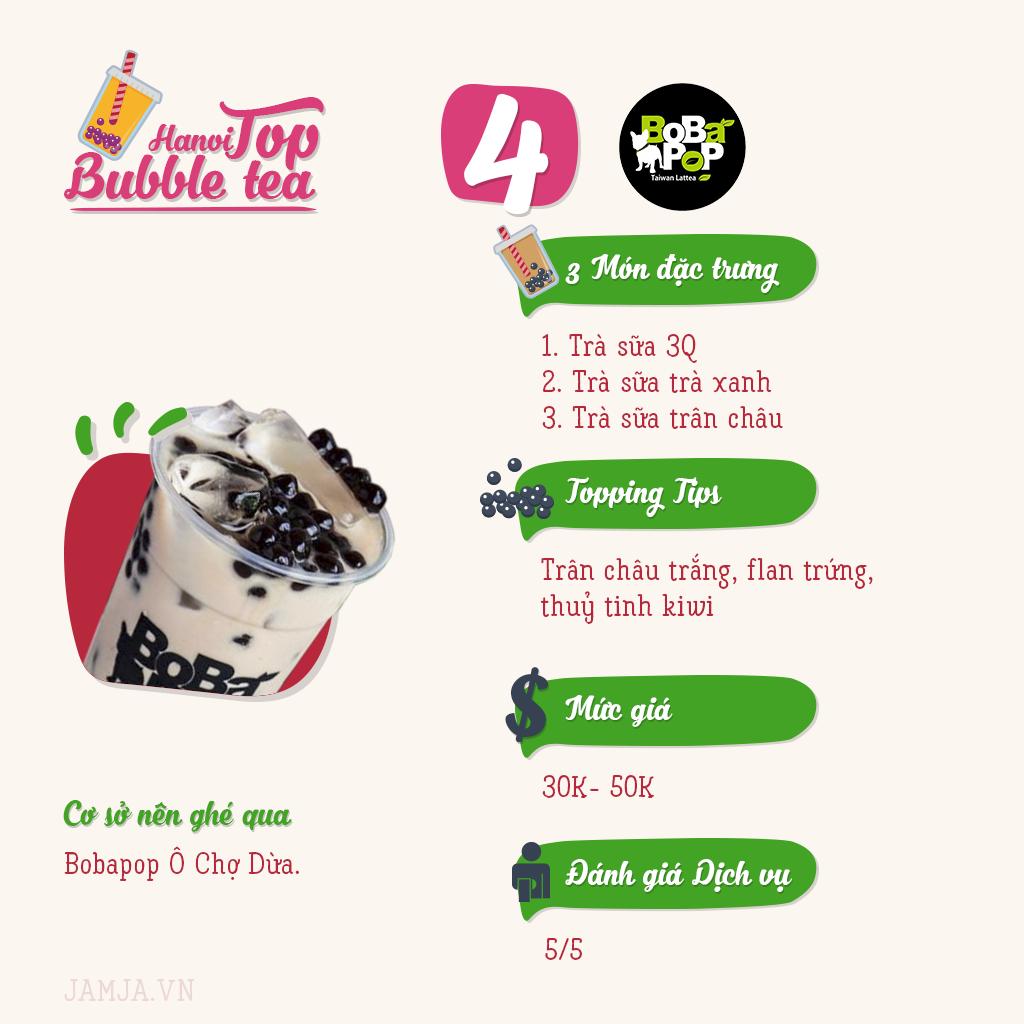 menu bopbabop