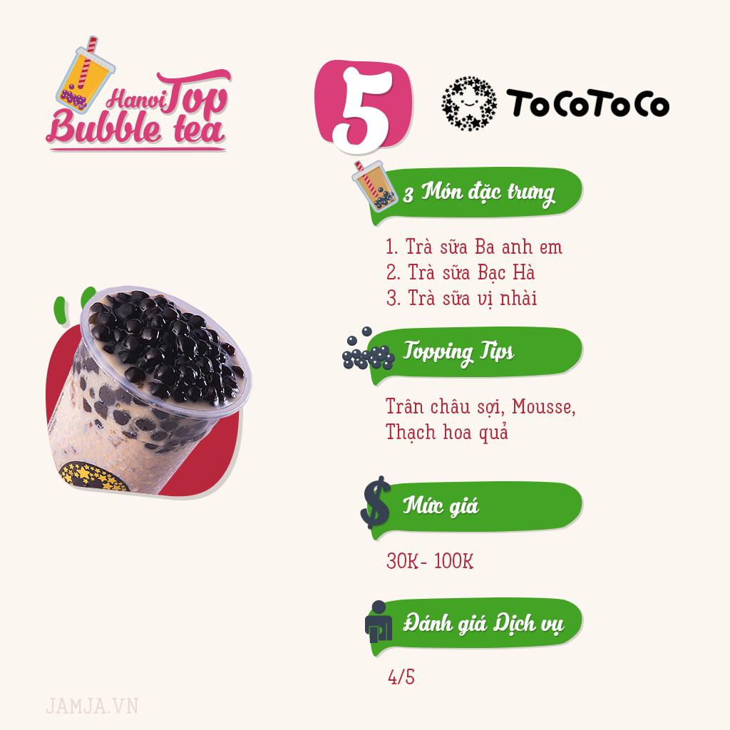 menu tocotoco