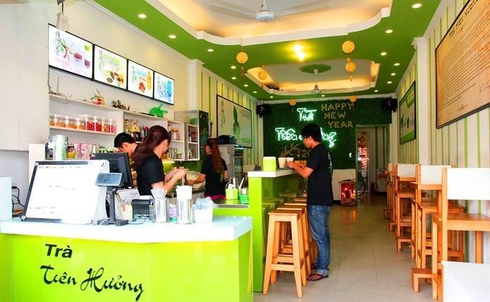 cửa hàng trà sữa tiên hường
