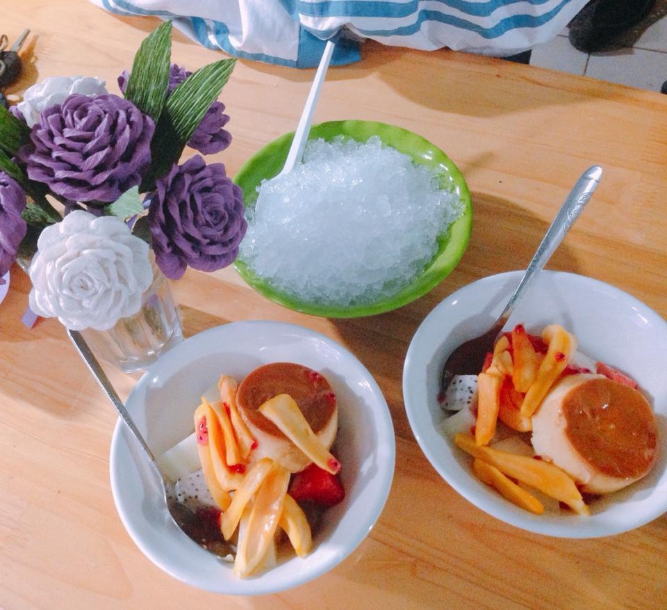 Cách làm hoa quả dầm caramen cực ngon tại nhà-5