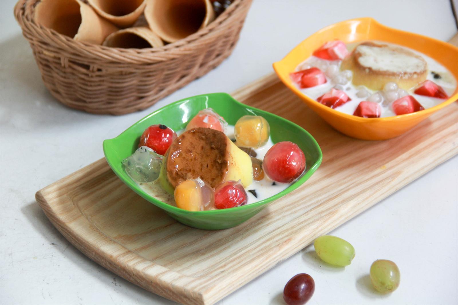 Cách làm hoa quả dầm caramen cực ngon tại nhà-1