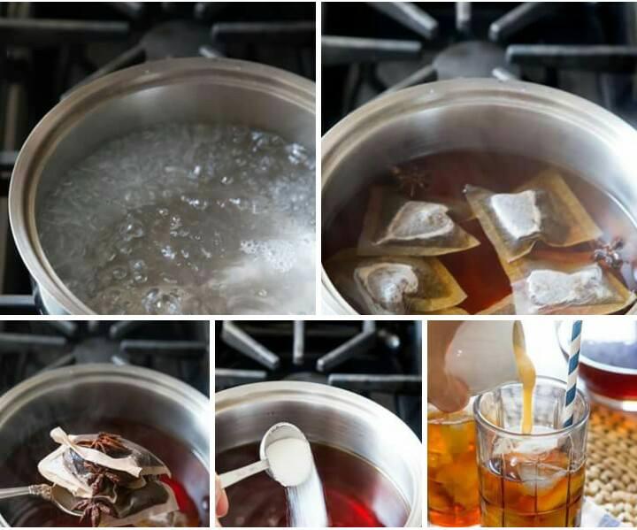 Cách làm trà sữa thái đỏ thơm ngon dễ làm tại nhà-4
