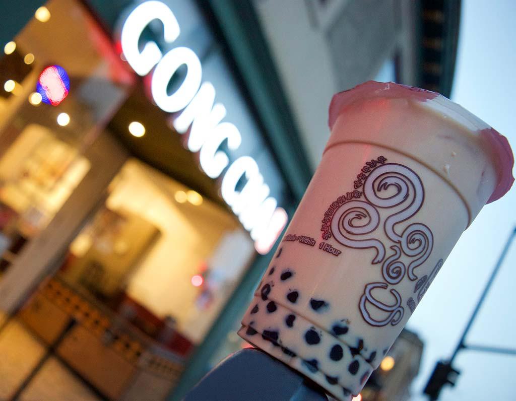 trà sữa nổi tiếng gongcha