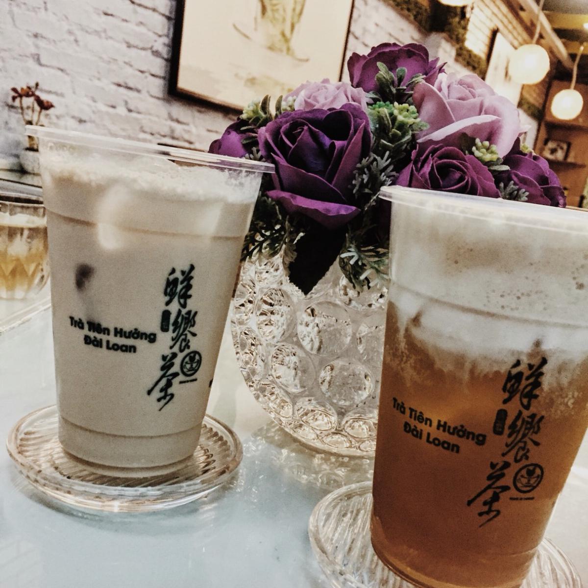 trà sữa tiên hưởng được yêu thích