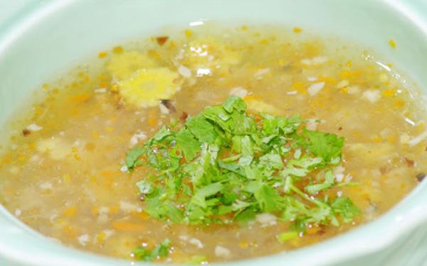 cách nấu súp ngô chay