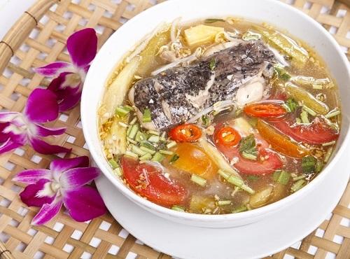 Các bước thực hiện món canh chua nấu cá đuối