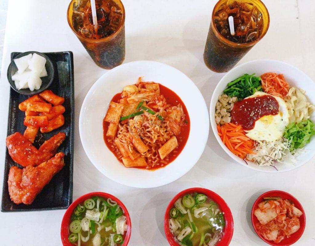 Hanuri quán ăn Hàn Quốc