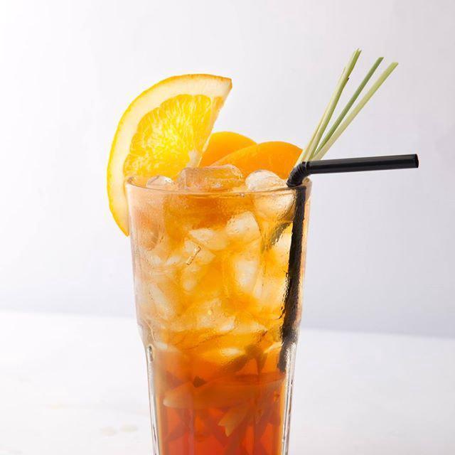 Cách làm trà đào cam sả-1