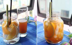 Cách làm trà đào cam sả-7