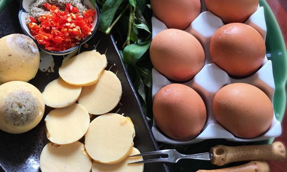 cách làm hột gà nướng thái lan ngon đúng điệu