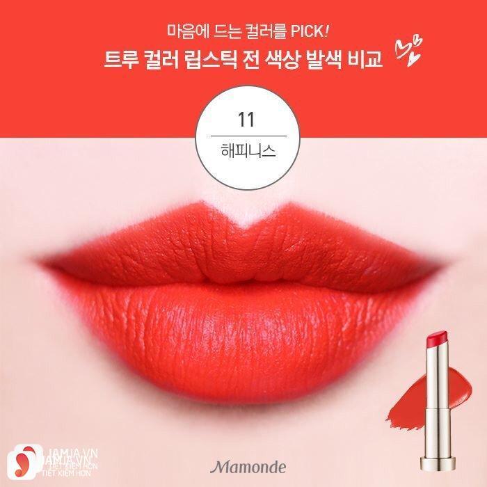 Mamonde True Color Lipstick màu 11 Happiness