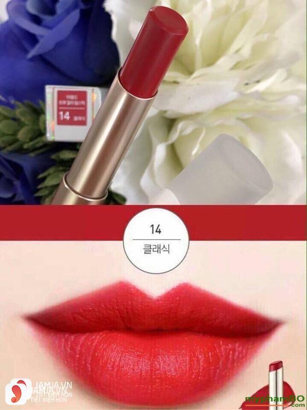 Mamonde True Color Lipstick màu 14 Classic