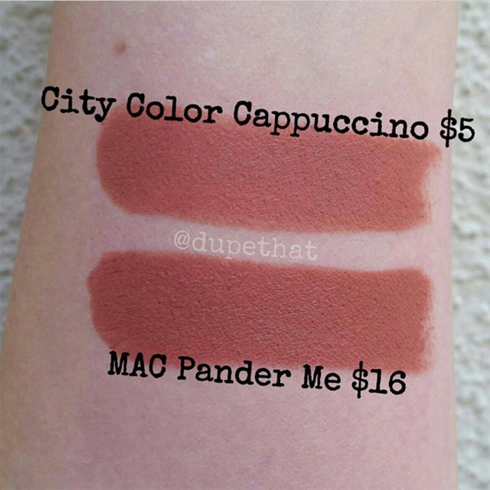 Bảng màu son City Color Be Matte-5