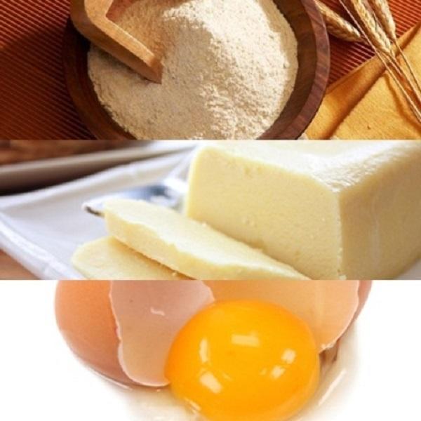 các loại bánh dễ làm từ bột mì-bánh quy bơ
