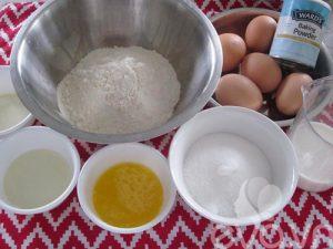 các loại bánh dễ làm từ bột mì-bánh bông lan-1