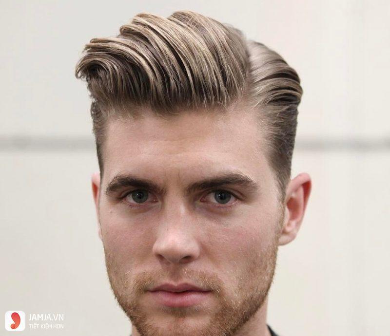 Kiểu tócSide Part hiện đại lãng tử