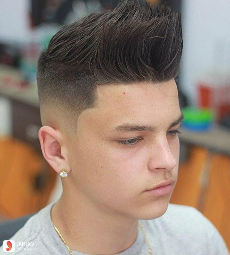 Kiểu tóc Spiky cho nam gọn gàng