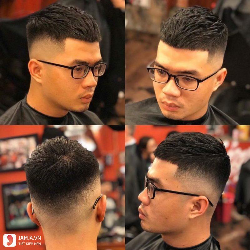 Kiểu tóc Mohican đơn giản