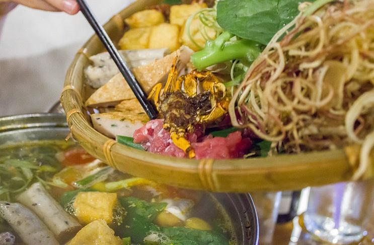 Quán Mộc - quán lẩu riêu cua bắp bò ngon ở Hà Nội-1