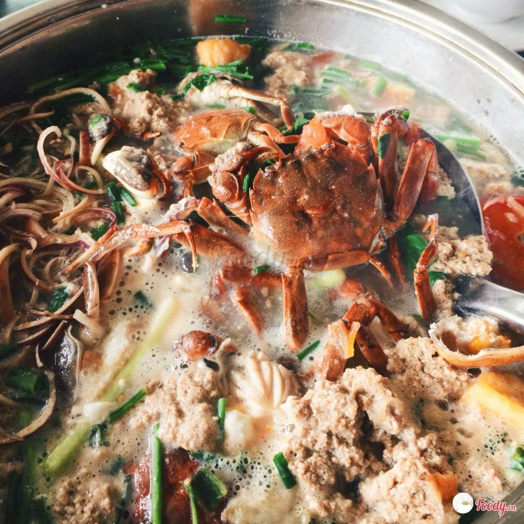 Lẩu cua sông H2T - quán lẩu riêu cua bắp bò ngon ở Hà Nội - 13