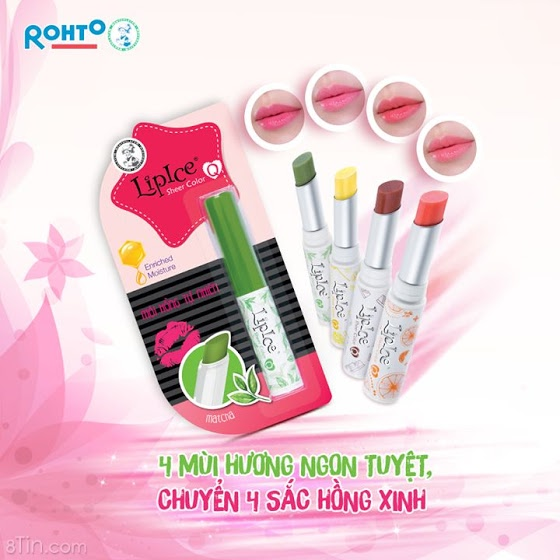 LipIce Sheer Color Q