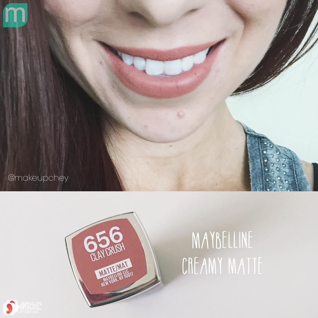 Son Maybelline màu nào đẹp?