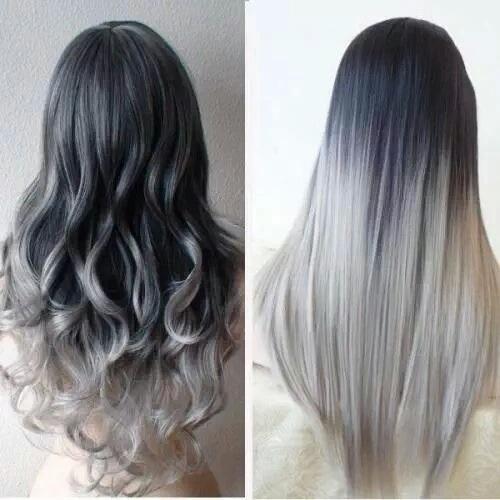 Tóc màu ombre đẹp cho nữ