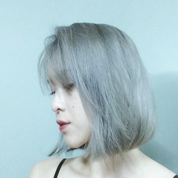 tóc màu khói đẹp cho nữ