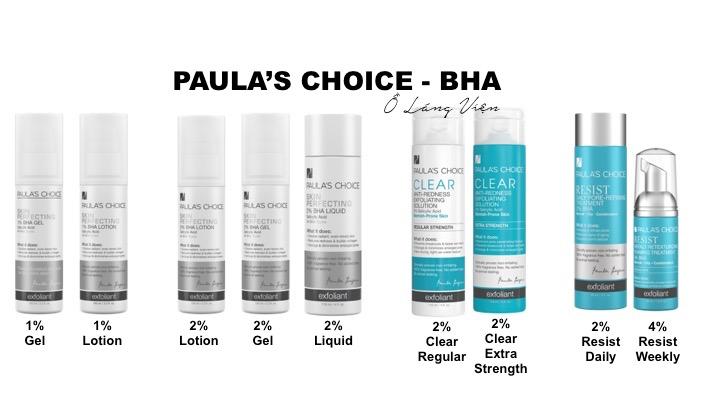 Cách dùng BHA Paula's Choice 3