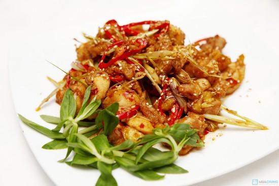 cách kho thịt gà sả ớt-1
