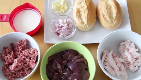 Cách làm bánh mì pate trứng 3