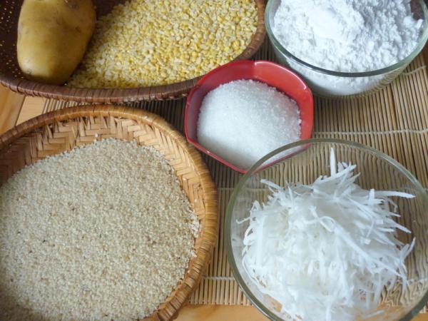 cách làm bánh rán ngon từ bột mì