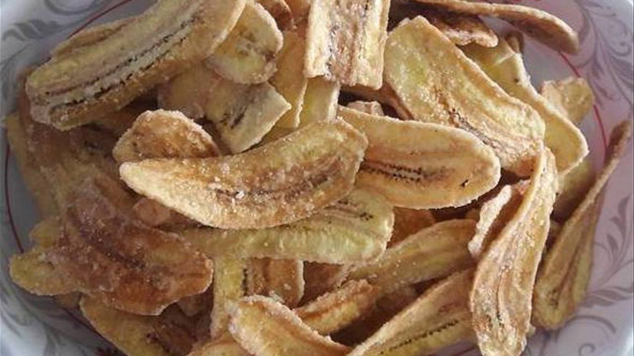 Cách làm chuối khô ngào đường