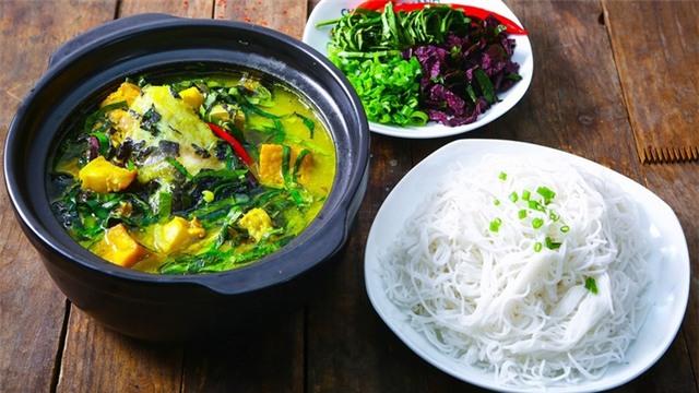Cách nấu cá trê om chuối đậu