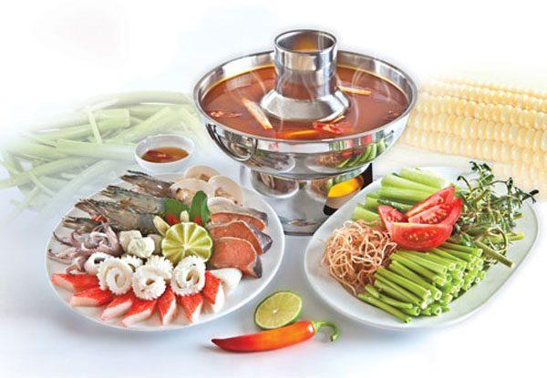 cách nấu lẩu Thái bằng gói gia vị 1