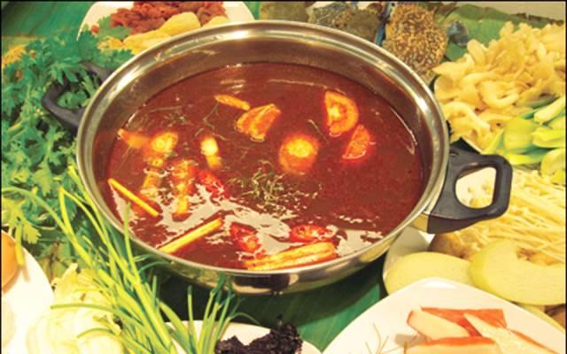 cách nấu lẩu Thái bằng gói gia vị 4