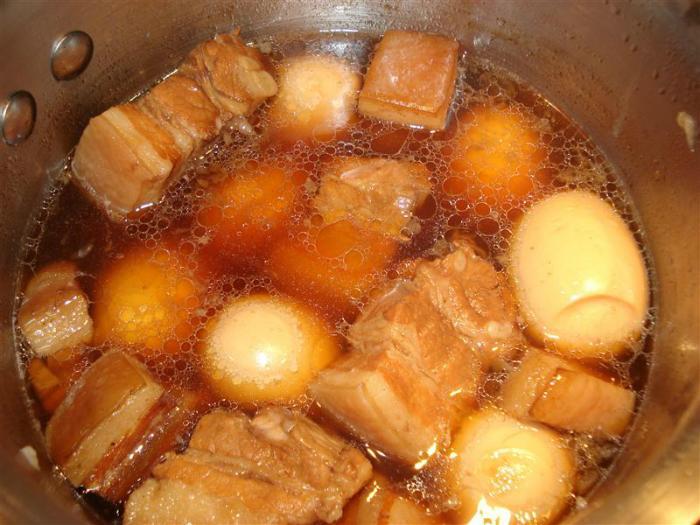 Cách nấu thịt lợn kho tàu - 7
