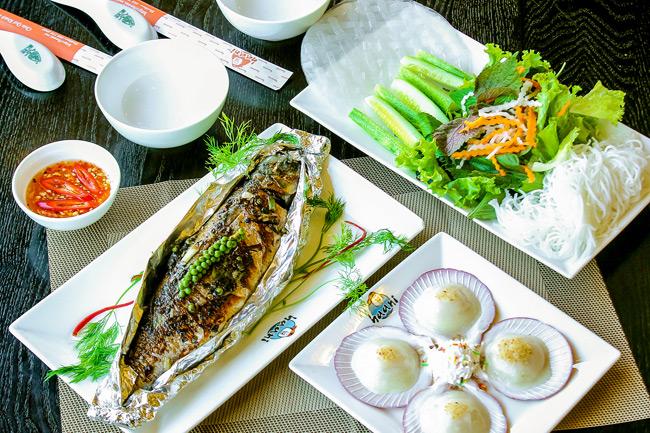 cách ướp cá nướng giấy bạc