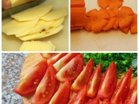 Cách nấu canh khoai tây cà chua-2