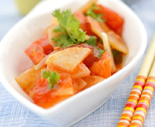 Khoai tây xào cà chua có độc không