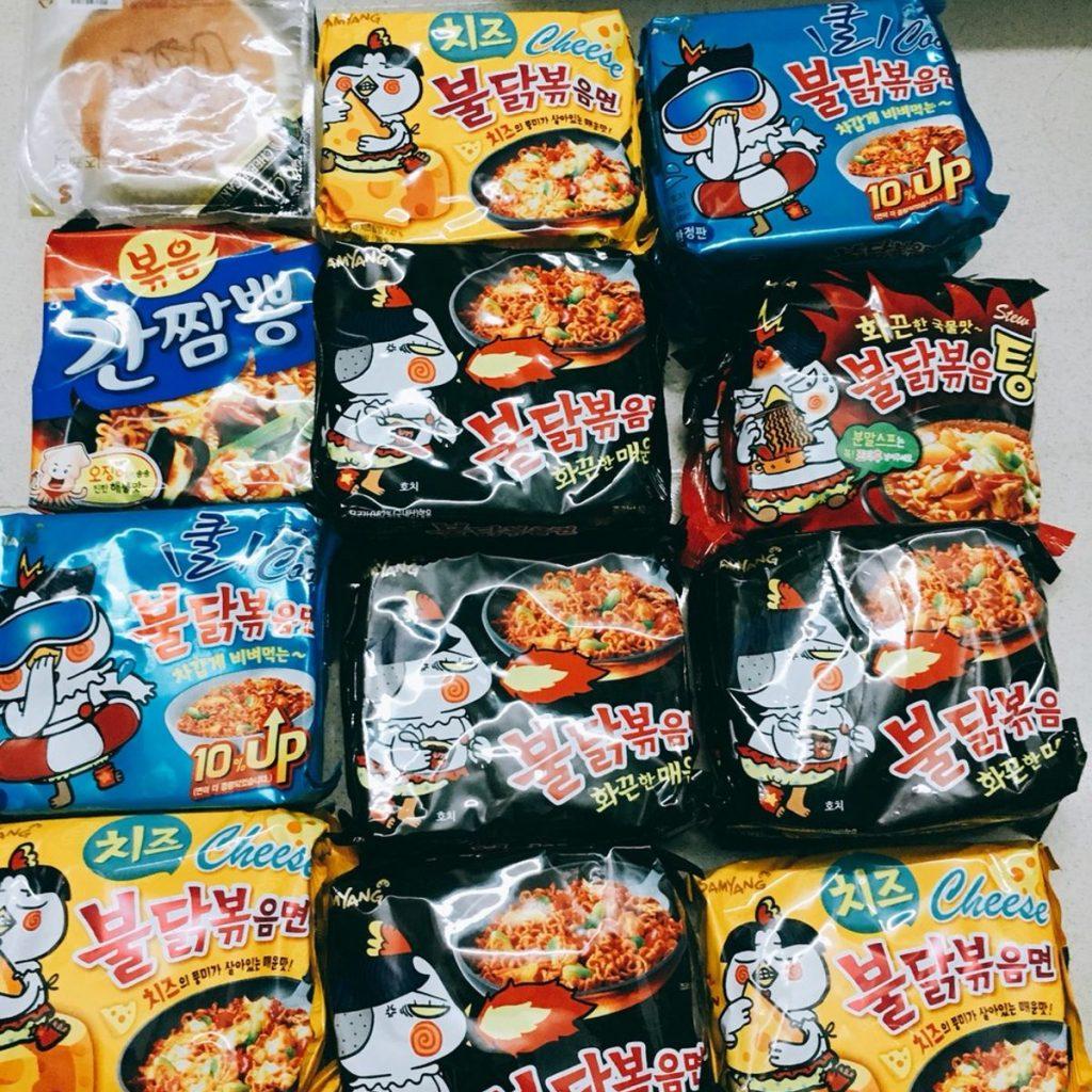 Mua mì gói cay Hàn Quốc ở đâu - 2