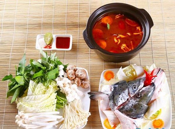 Nguyên liệu cách nấu lẩu cá biển-1