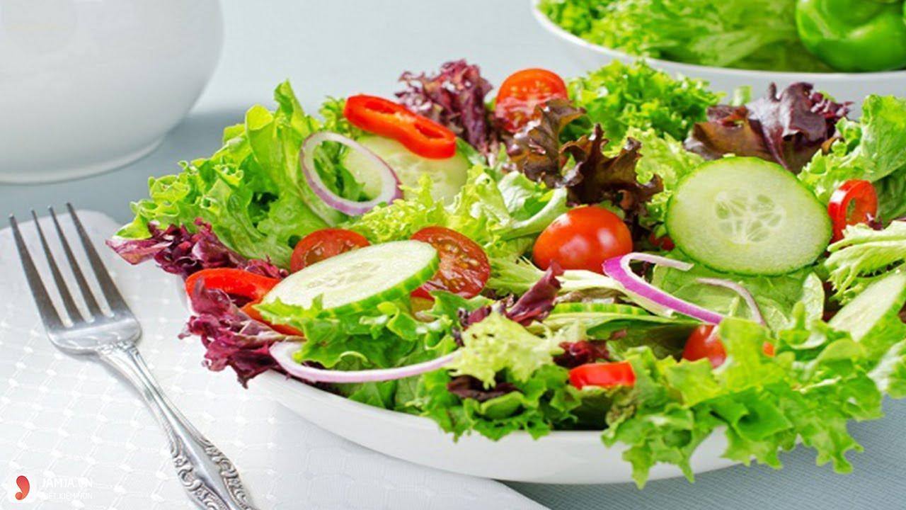 Salat rau củ ăn kèm đồ nướng
