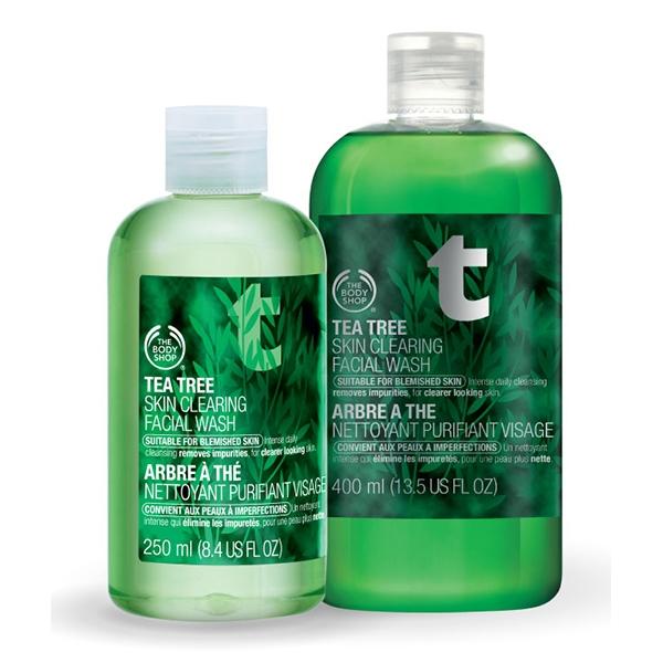 sữa rửa mặt tốt nhất thế giới Tea Tree Skin Clearing Facial Wash