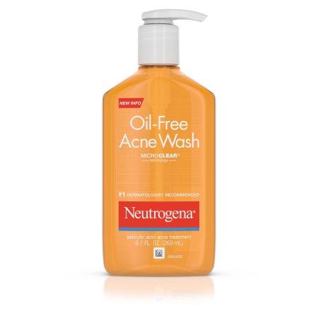 sữa rửa mặt tốt nhất thế giới Neutrogena Oil Free Acne Wash