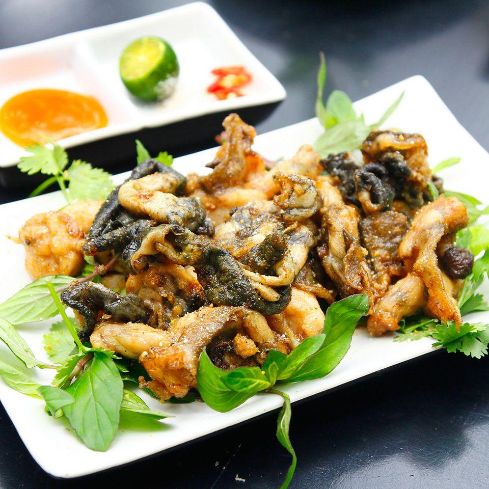 thịt ếch nấu món gì ngon