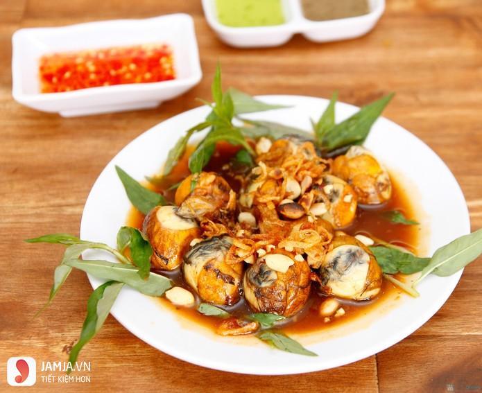 Quán trứng cút lộn xào me Đà Nẵng