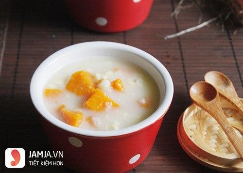 Chè khoai lang nước cốt dừa thơm ngon-2