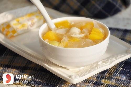 Chè khoai lang nước cốt dừa thơm ngon-1